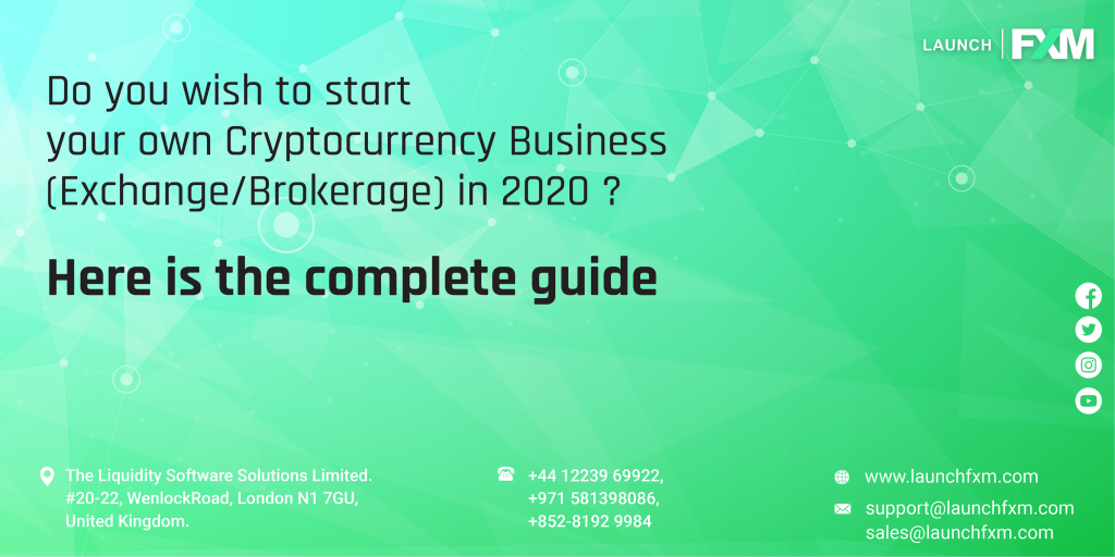 how to start a cryptocurrency company