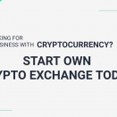 Looking for a business with Cryptocurrency? Start own crypto exchange today!